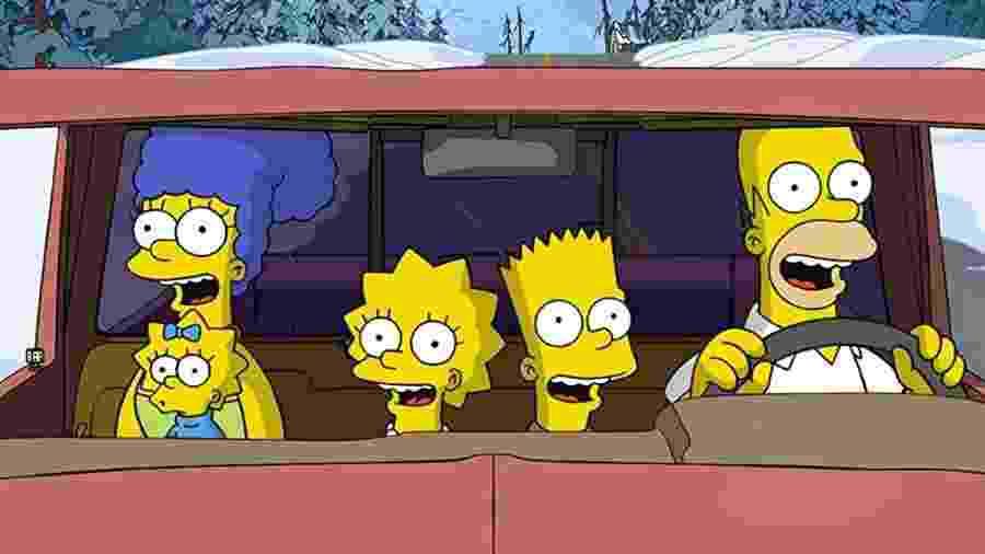 """Cena de """"Os Simpsons: O Filme"""" (2007) - Divulgação"""