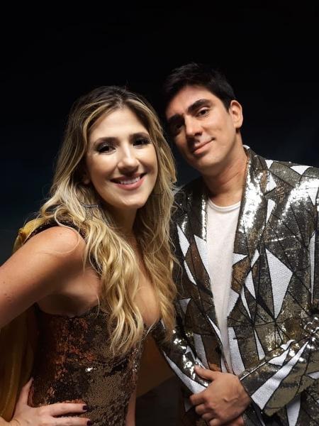 """Juntos, Dani Calabresa e Marcelo Adnet irão apresentar o programa """"A Gente Riu Assim"""" - Paulo Violeta/TV Globo"""