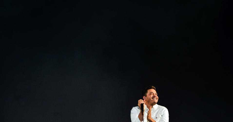 Wesley Safadão foi o terceiro a subir no palco do Festival Virada Salvador na noite de segunda (31)