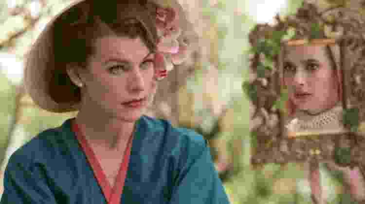 """Milla Jovovich e Emma Roberts em cena de """"Paradise Hills"""" - Divulgação/Manolo Pavn - Divulgação/Manolo Pavn"""