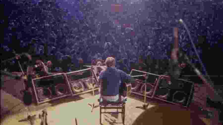 João Gilberto se apresenta no Festival de Águas Claras em 1983 - Divulgação