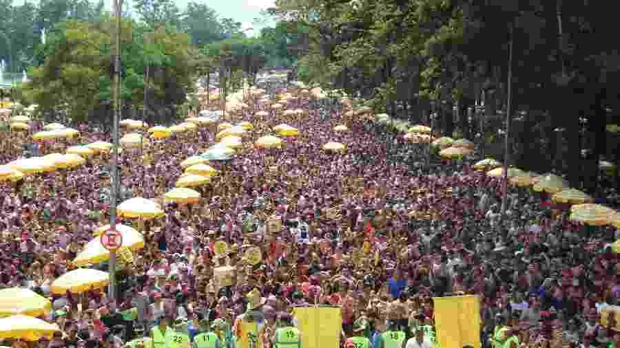 Carnaval em SP terá aproximadamente 15 milhões de foliões  - HENRIQUE BARRETO/FUTURA PRESS/ESTADÃO CONTEÚDO