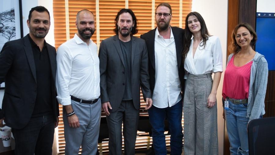 Keanu Reeves negocia com prefeitura e governo de SP para