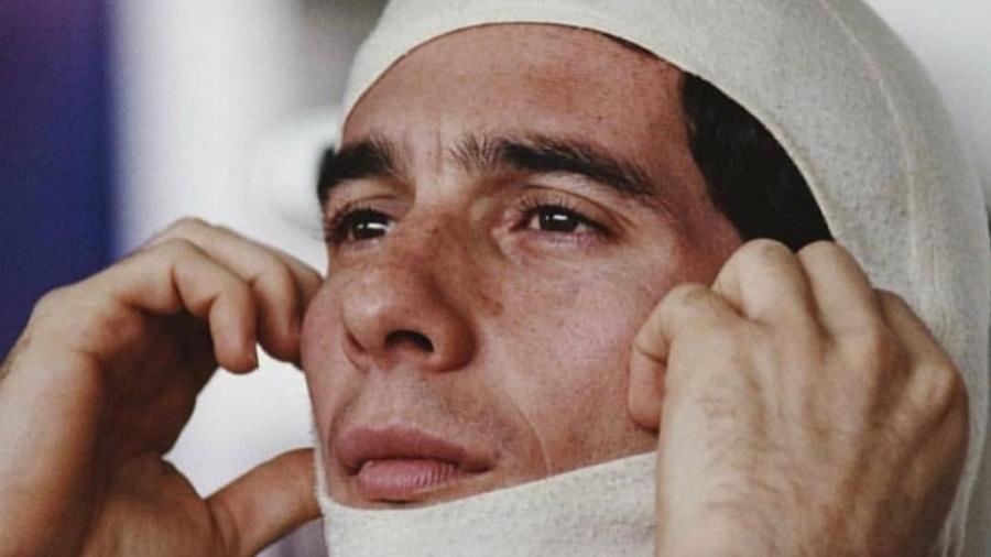O piloto Ayrton Senna - Reprodução/Instagram