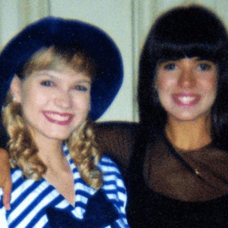 Eliana e Mara Maravilha em foto de 1994 - Reprodução/Instagram