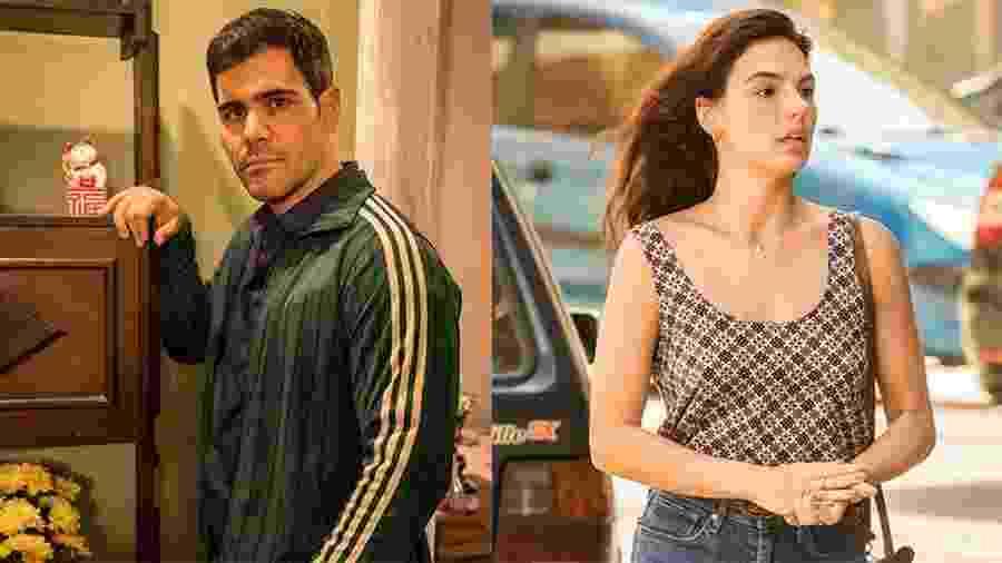 Magno (Juliano Cazarré) e Betina (Isis Valverde) vão se apaixonar em Amor de Mãe - João Cotta/Globo