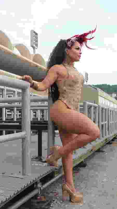Michelly Boechat se sentiu ofendida por comentários sobre sua aparência - Divulgação