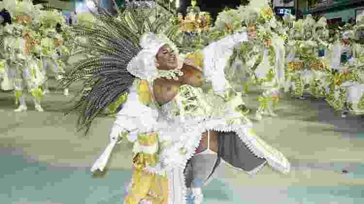 Jojo Todynho, no desfile pela Beija-Flor - Thyago Andrade/Brazil News