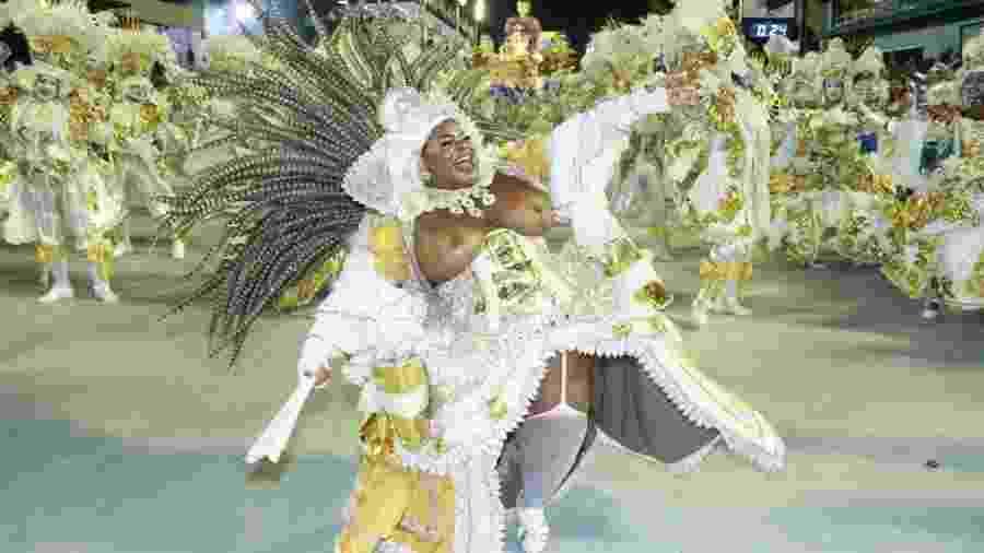 Jojo Todynho no desfile da Beija-Flor - Thyago Andrade/Brazil News