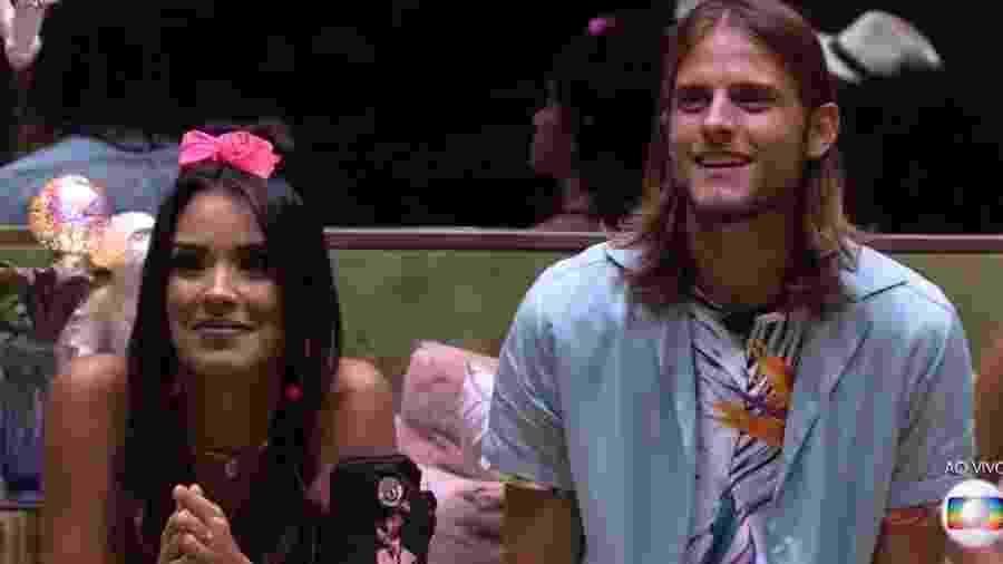 Ivy é a nova líder e Daniel fica com prêmios - Reprodução/TV Globo