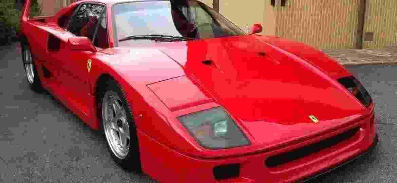 Mito dos anos 80, Ferrari F40 teve pouco mais de 1.300 unidades produzidas - Reprodução/Maranello Service