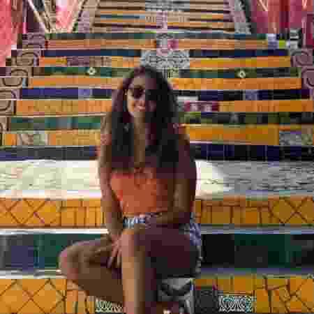 A italiana Antonella Iannarilli, que passava férias no Brasil - Arquivo pessoal