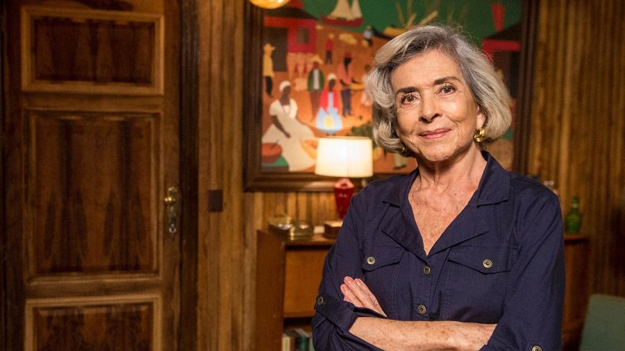 """Betty Faria durante participação em """"Malhação: Vidas Brasileiras, em 2018 - Divulgação/Globo"""
