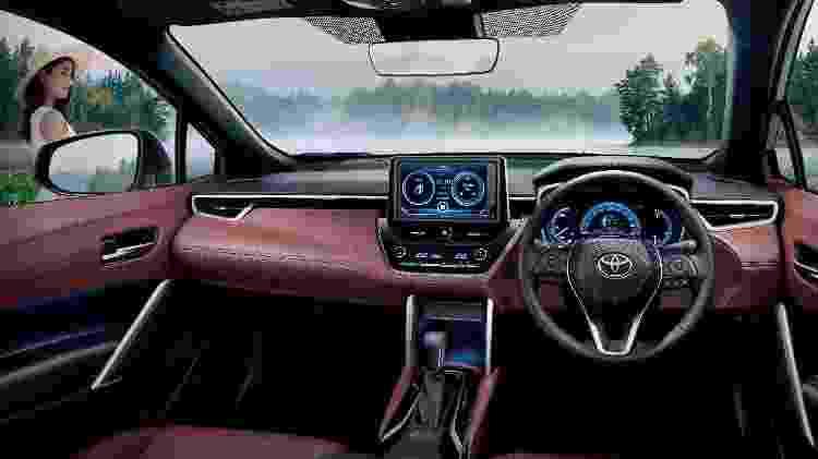 Corolla Cross 2 - Divulgação/Toyota - Divulgação/Toyota