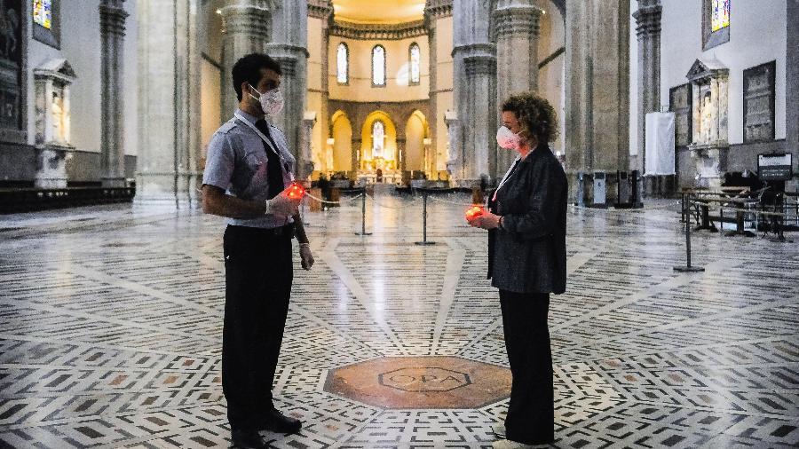 Florença na pandemia - Getty Images