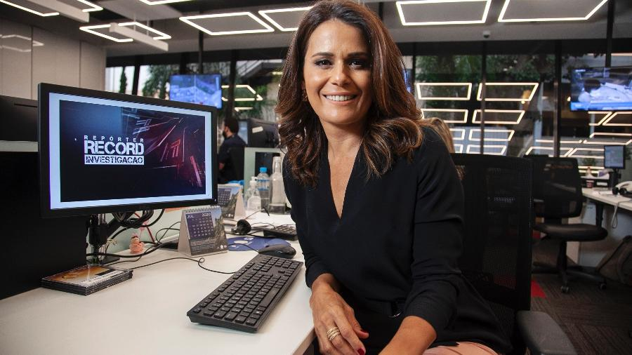 Adriana Araújo - Divulgação/ RecordTV/ Edu Moraes