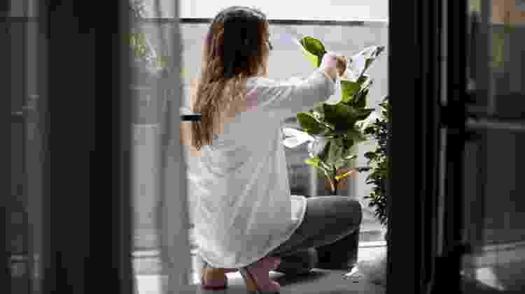 varanda com plantas - Getty Images - Getty Images