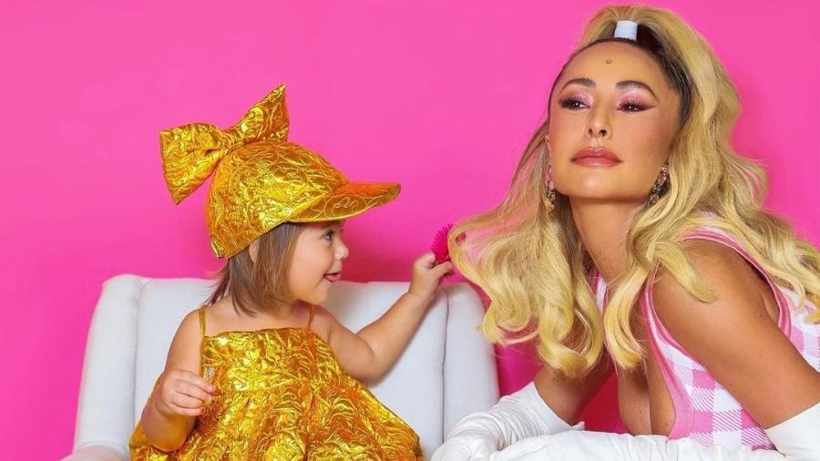 Sabrina Sato publica foto em homenagem aos dois anos da filha Zoe - Reprodução Instagram