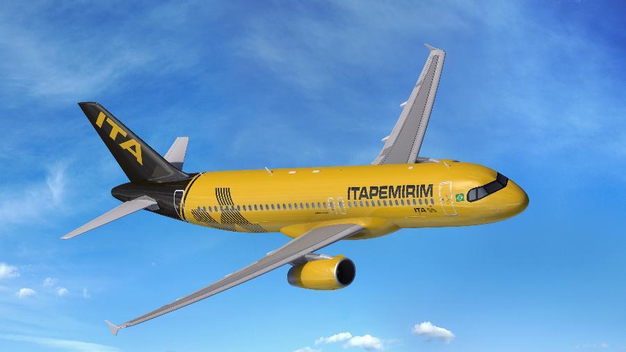 Primeira aeronave de nova companhia pousou hoje em Natal - Divulgação