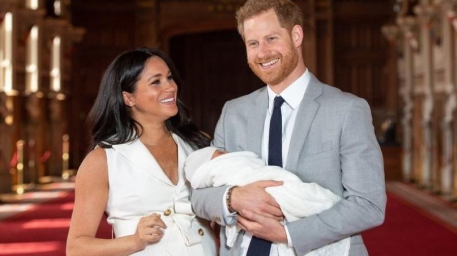 O primeiro filho do casal, Archie, nasceu em maio de 2019 - GETTY IMAGES