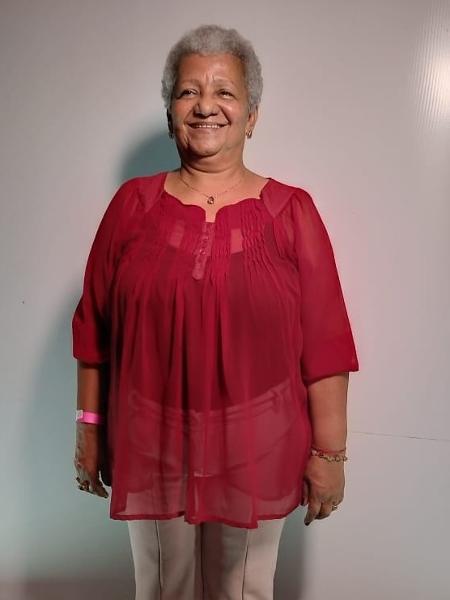 A professora Valdenice Oliveira, 69, teve aula na Escola Feminista de Cabo de Santo Agostinho (PE) - arquivo pessoal