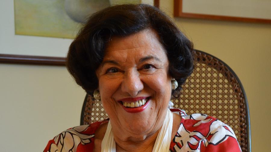 """A escritora paulistana Ruth Rocha, 90, autora de clássicos infantis como """"Marcelo, Marmelo, Martelo"""" - Divulgação"""