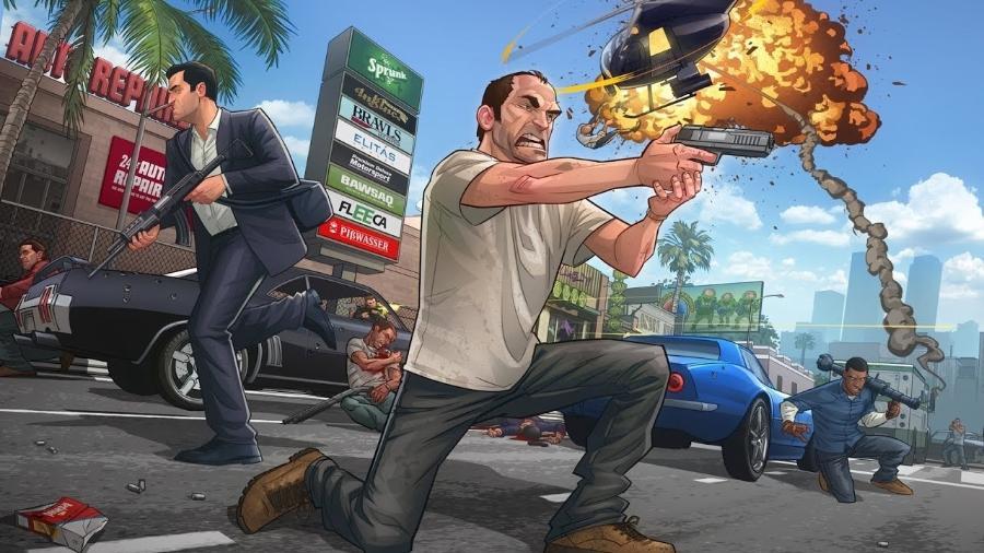 GTA 5 - Divulgação/Rockstar Games