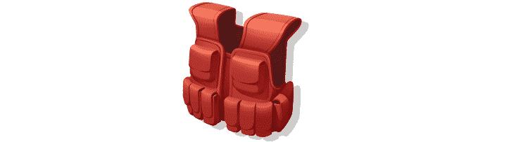 Assault Vest - Reprodução/Nintendo - Reprodução/Nintendo