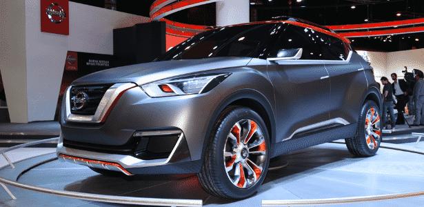 Nissan Kicks Concept - Murilo Góes/UOL - Murilo Góes/UOL
