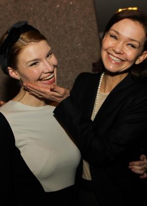 Julia Lemmertz está muito feliz com a gravidez da filha Luiza - Zanone Fraissat/Folhapress
