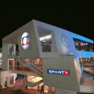 Globo inaugura estúdios da emissora para a Rio 2016 - Reprodução/TV Globo