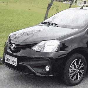 Toyota Etios Platinum vídeo - Reprodução