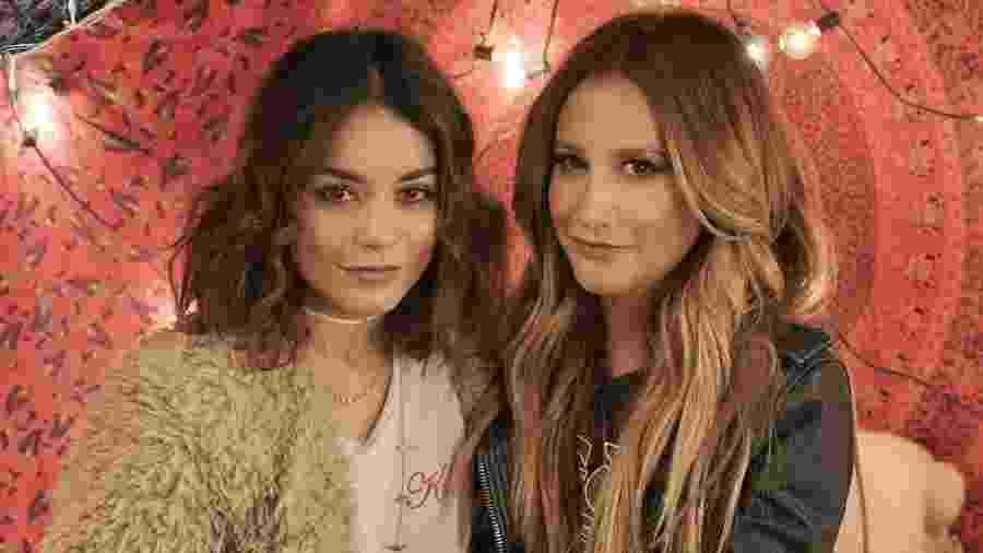 """Ashley Tisdale canta ao lado de Vanessa Hudgens, ex-colega de """"High School Musical"""" - Reprodução/Instagram/ashleytisdale"""