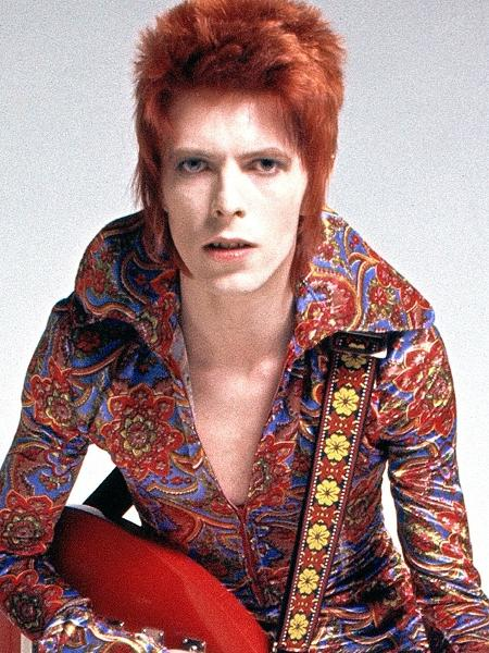 O cantor David Bowie - Reprodução
