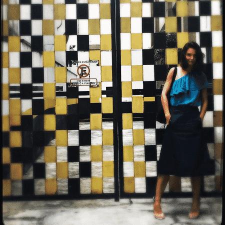 Katie Holmes posa para fotos em São Paulo - Reprodução/Instagram/katieholmes212