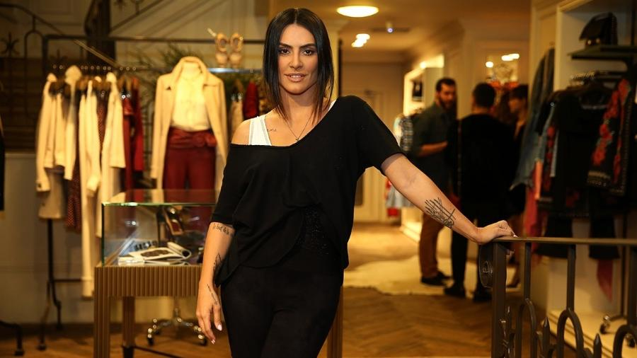 Cleo Pires posa durante lançamento de uma coleção de roupas em São Paulo - Manuela Scarpa/Brazil News