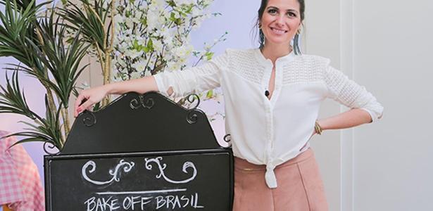 """Carol Fiorentino estreia como apresentadora da nova temporada do """"Bake Off Brasil"""""""