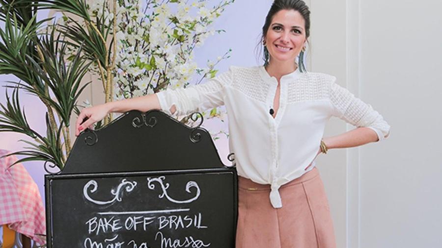 """Carol Fiorentino estreia como apresentadora da nova temporada do """"Bake Off Brasil"""" - Divulgação/SBT"""