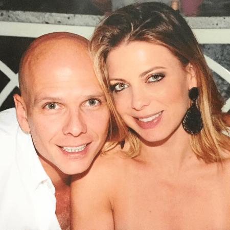 Sheila Mello e o marido, o ex-nadador Xuxa - Reprodução/Instagram/sheilamello