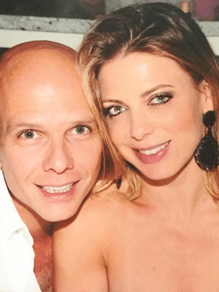 Sheila Mello posa ao lado do ex-marido, Xuxa - Reprodução/Instagram/sheilamello