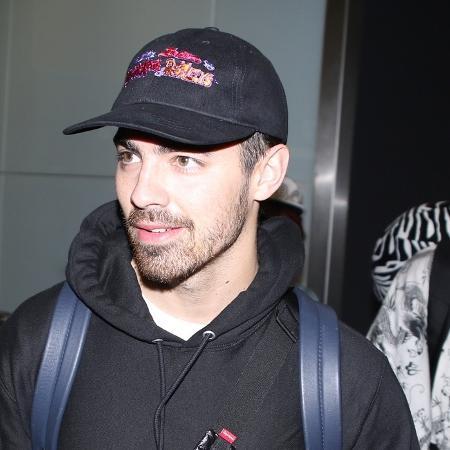 Joe Jonas em passagem pelo Rio - AgNews