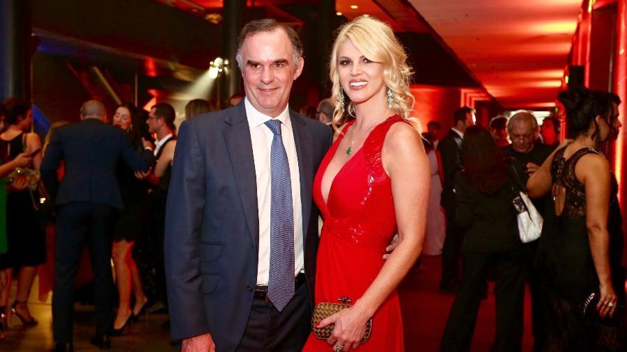 Val Marchiori e o namorado, o empresário mexicano Carlos Peyrelongue - Marcos Ribas/Brazil News