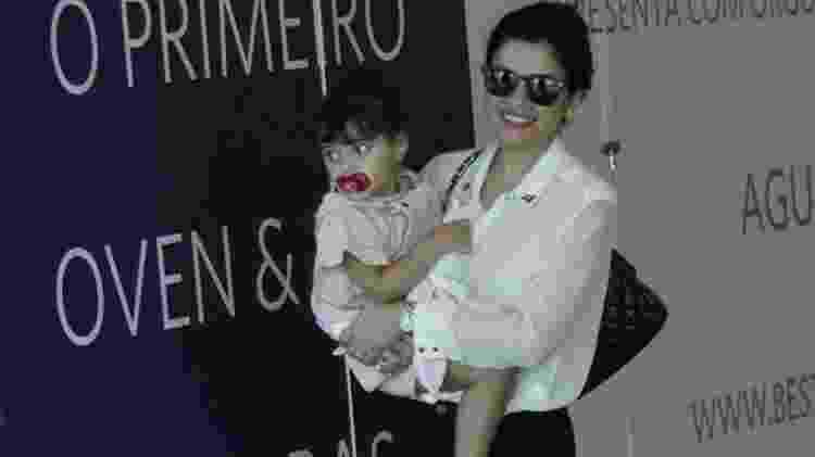 Vanessa Giácomo com a filha, Maria - AgNews - AgNews