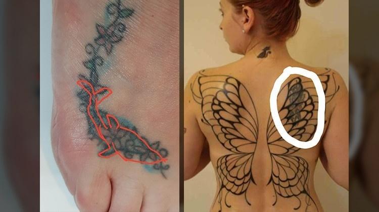 Tubarao Sardinha E Anjo Demonio Eles Tatuaram E Se