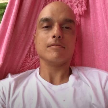 O ator Léo Rosa, em tratamento contra um câncer - Reprodução/Instagram