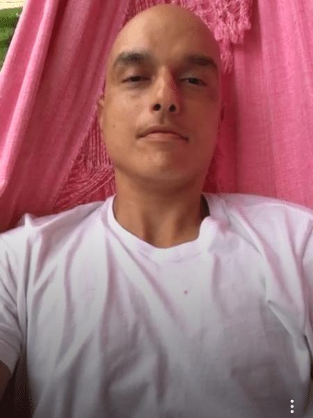 Em tratamento contra o câncer, Léo Rosa faz transmissão ao vivo no Instagram - Reprodução/Instagram