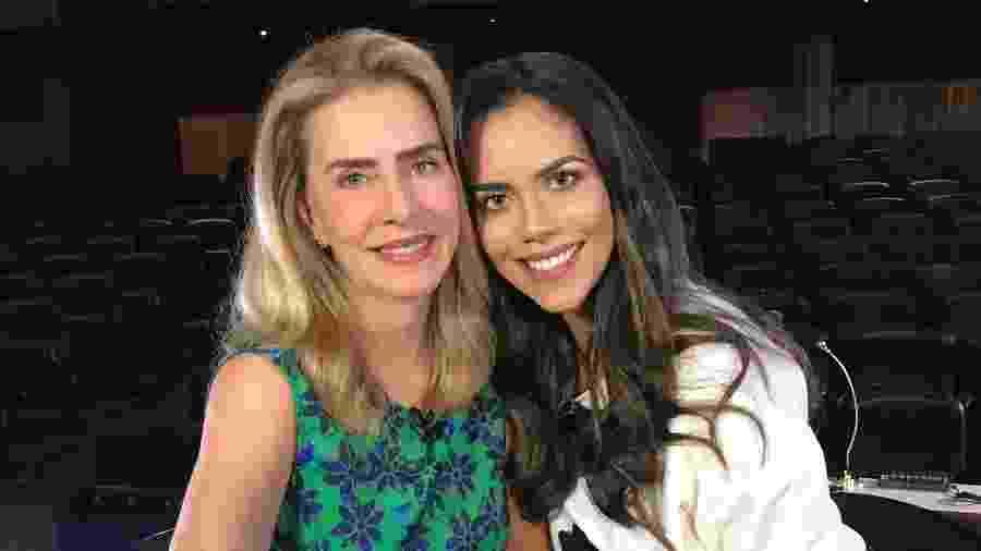 Maitê Proença no programa da Daniela Albuquerque na Rede TV!  - Divulgação
