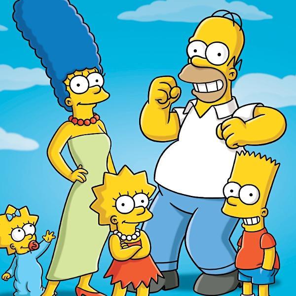 """A série """"Os Simpsons"""""""