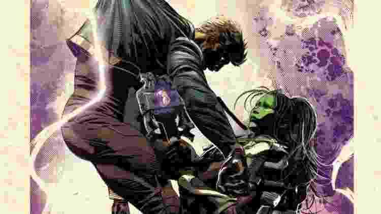 Gamora mata o Senhor das Estrelas - Reprodução - Reprodução