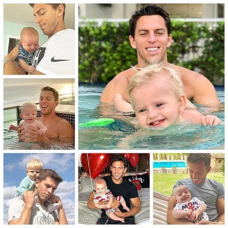 Ex-jogador Amaury Nunes ganha homenagem em Dia dos Pais - Reprodução/Instagram